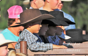 photo of young cowboys